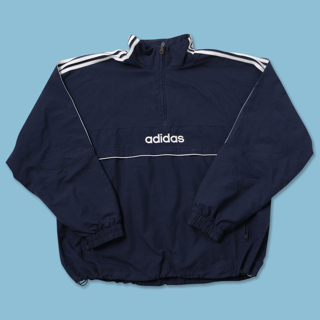 Vintage adidas Q-Zip Windbreaker XXLarge