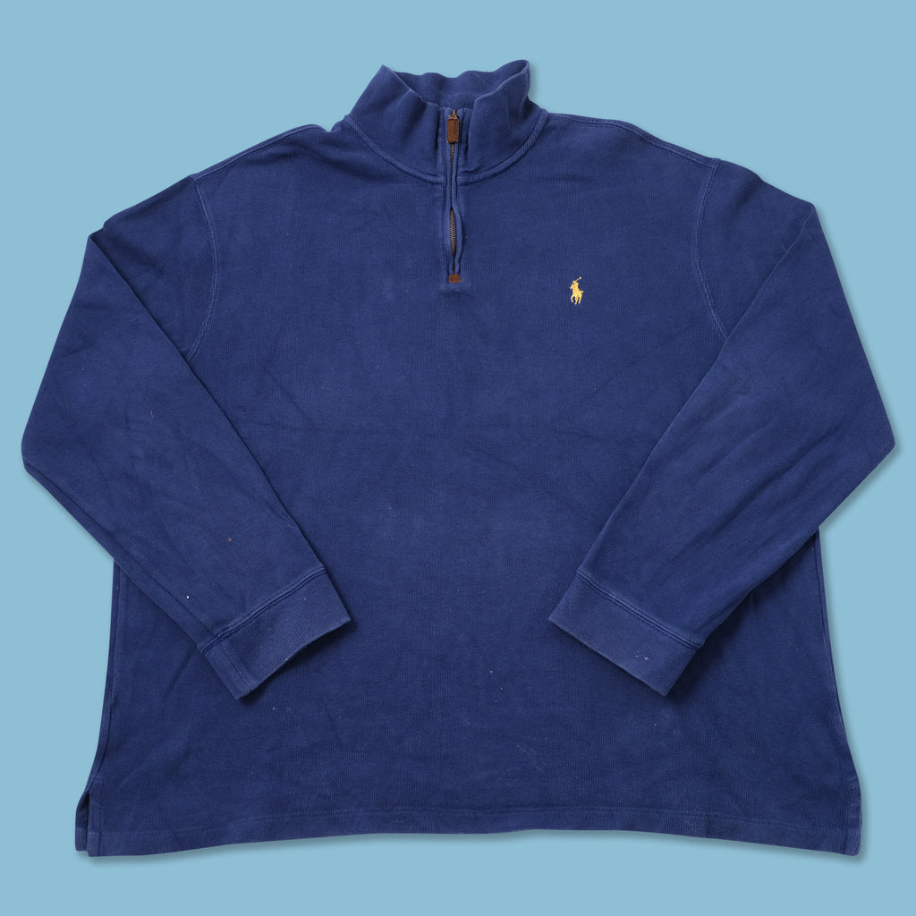 Vintage Polo Ralph Lauren Q-Zip Sweater XXLarge