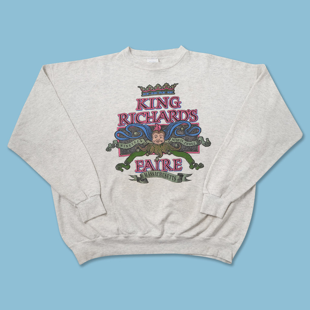Vintage 1993 King Richard's Faire Sweater XXLarge