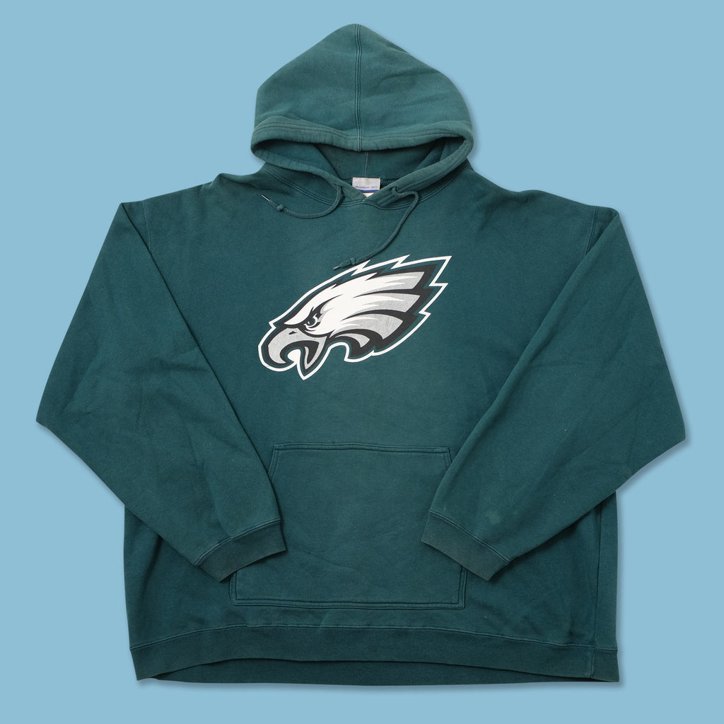 Vintage Reebok Philadelphia Eagles Hoody XXLarge