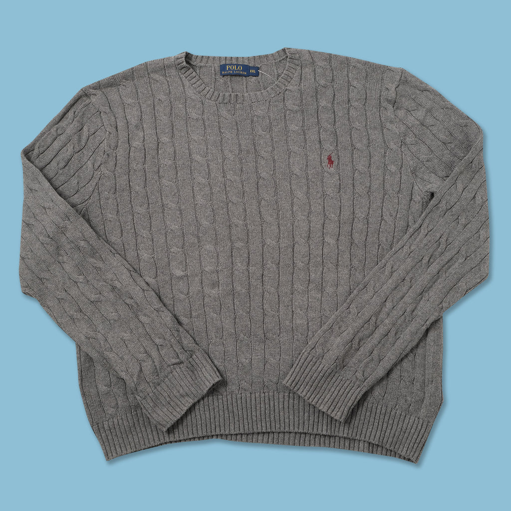 Vintage Polo Ralph Lauren Knit Sweater XXLarge