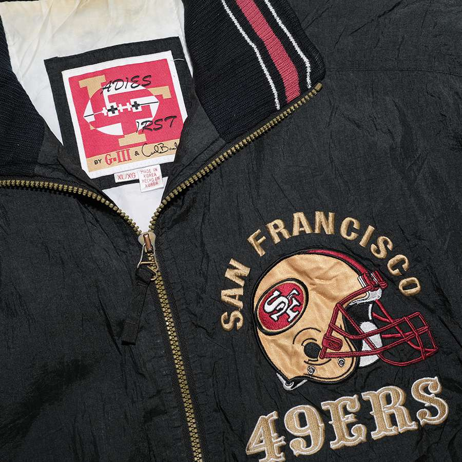 Vintage San Francisco 49ers Padded Jacket Large / XLarge