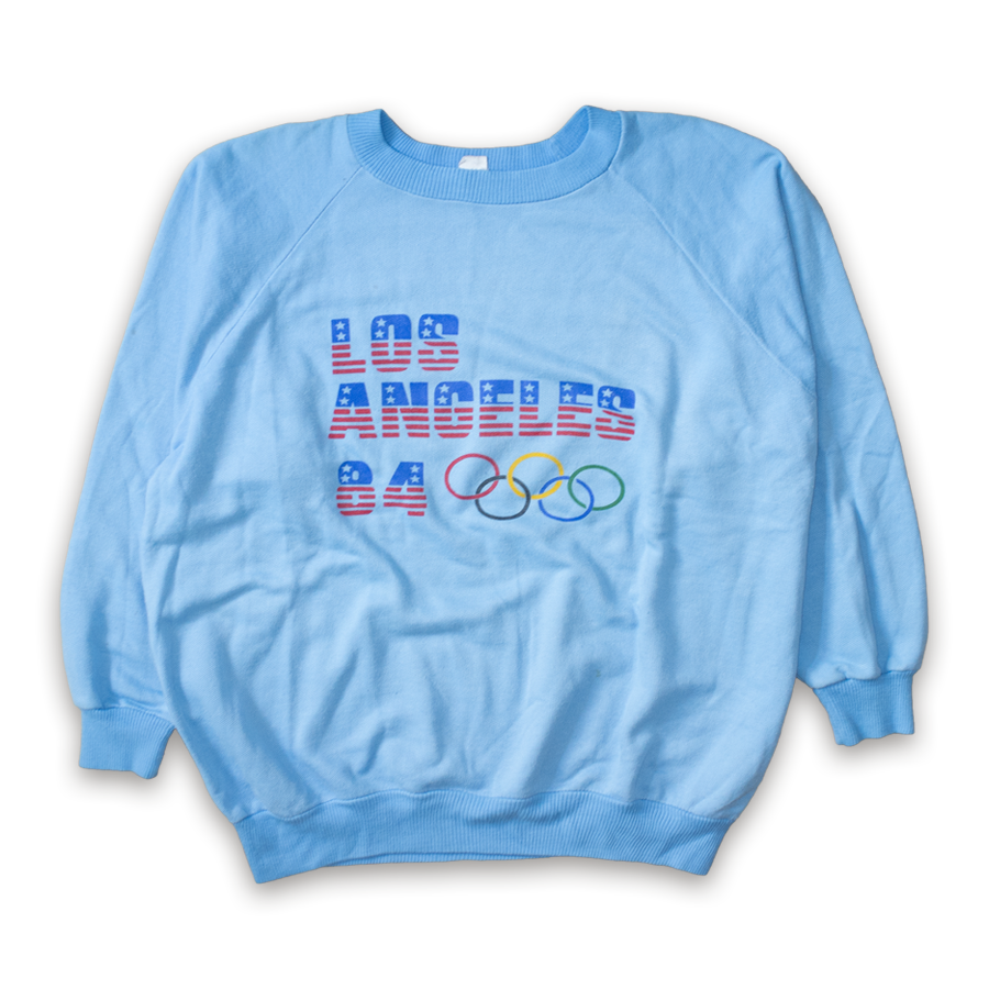 Rare L.A. Olympic Games 1984 Crewneck Large