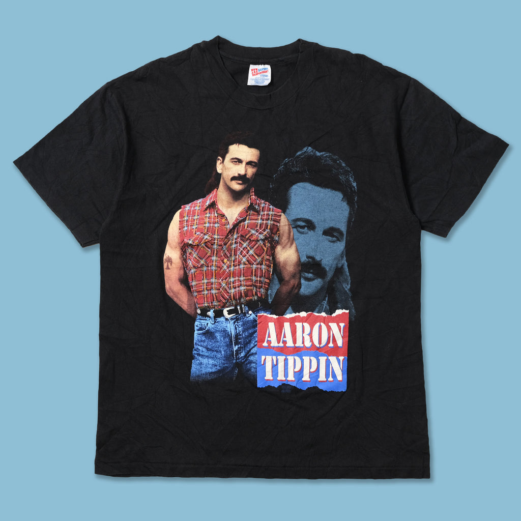 Vintage Aaron Tippin T-Shirt Large