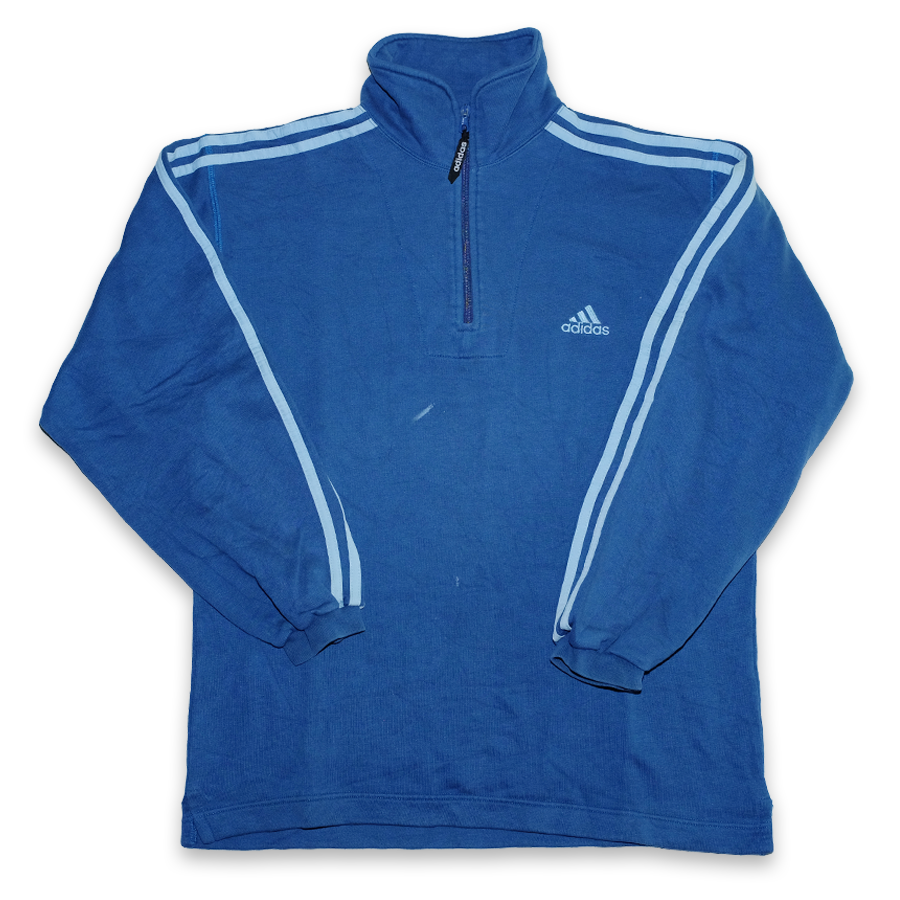 Vintage adidas Q-Zip Sweater Large