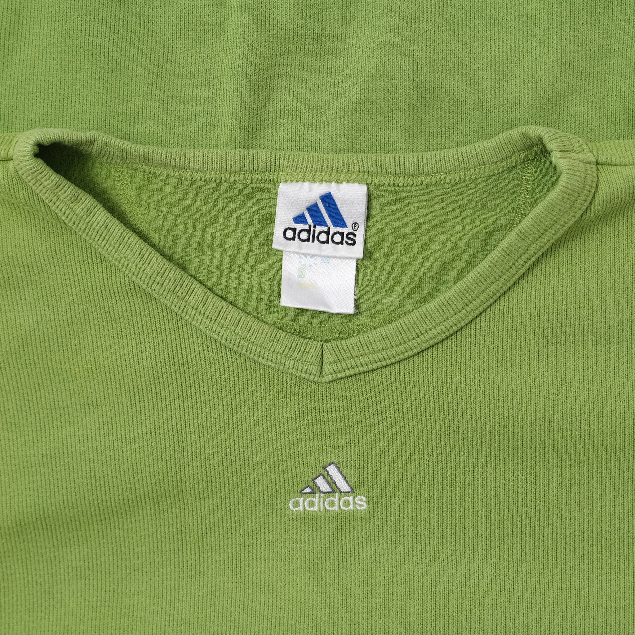Vintage adidas V-Neck Sweater Medium