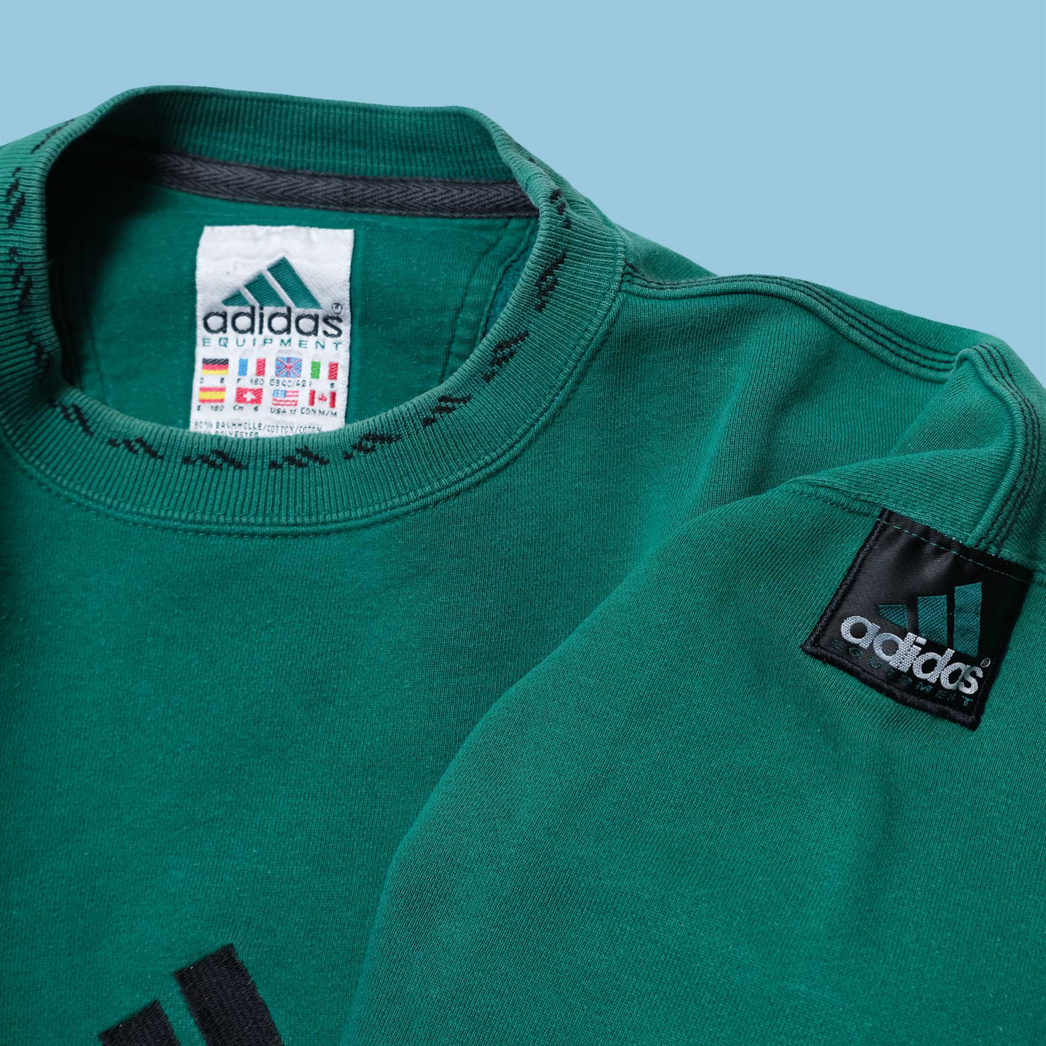 Vintage adidas Equipment Sweater Medium / Large