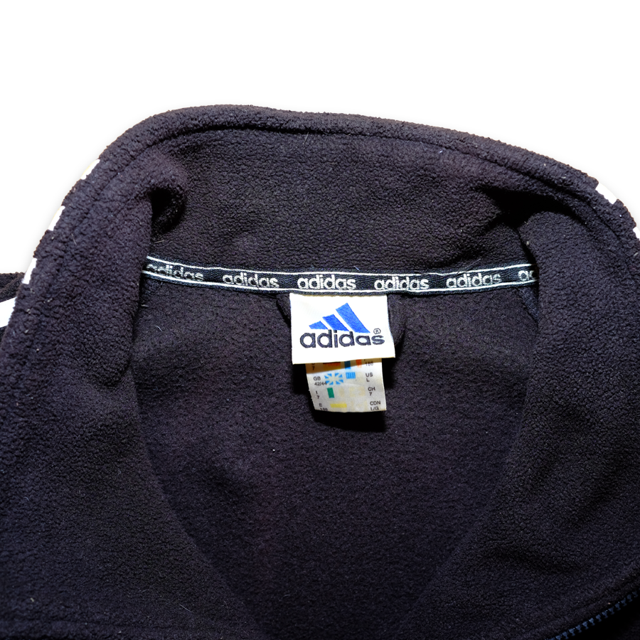 1a97f3ad958 Vintage adidas Three Stripes Fleece XLarge – Double Double Vintage