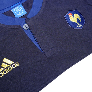 adidas France Soccer T-Shirt Sample Medium / Large