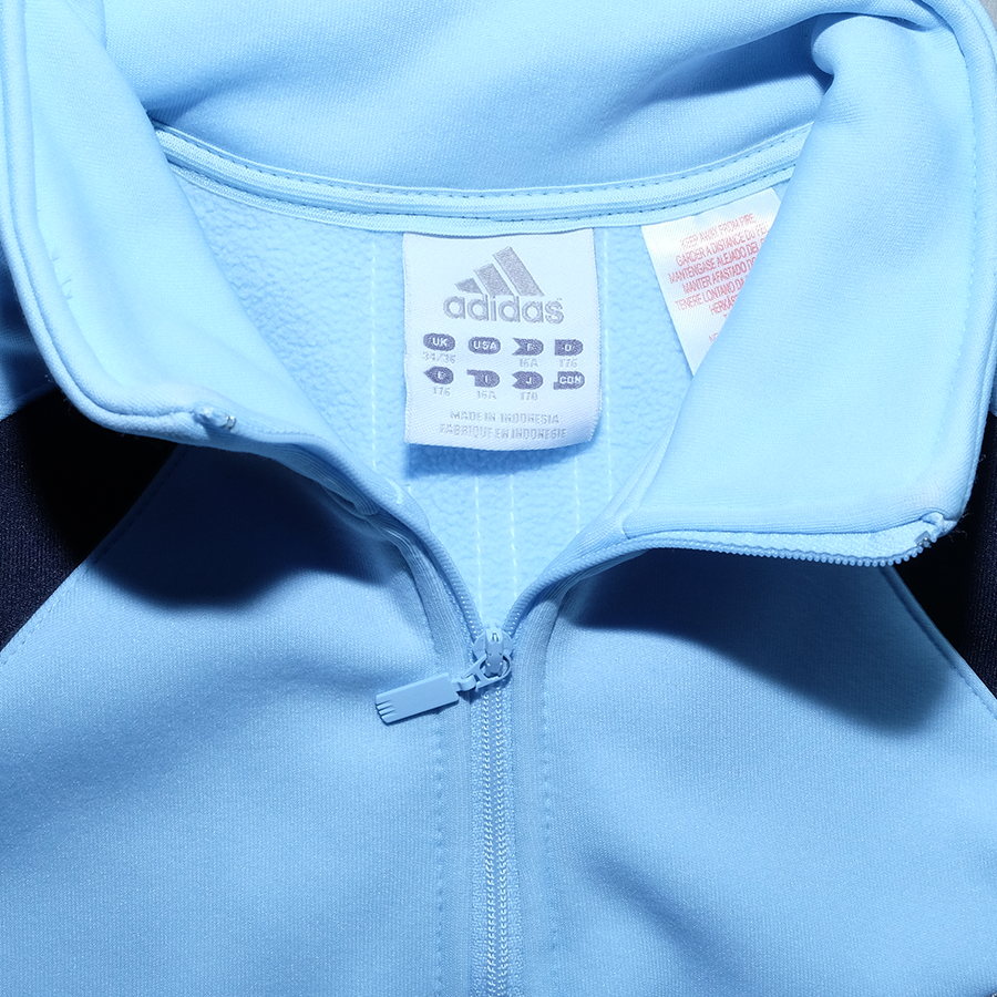 adidas Half Zip Athletic Sweater Small - Double Double Vintage