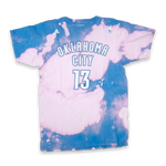 adidas James Harden OKC Bleach T-Shirt Large