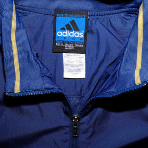 Vintage adidas Irish Q-Zip Windbreaker Medium - Double Double Vintage