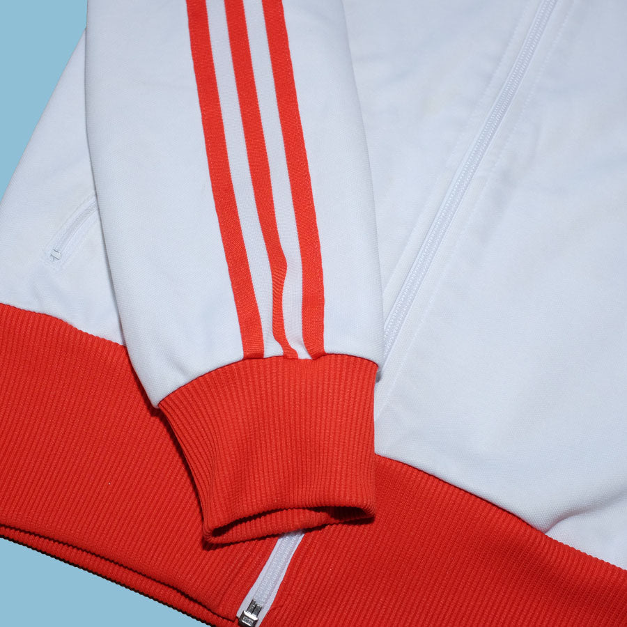 Womens Vintage adidas Zip Jacket Small - Double Double Vintage