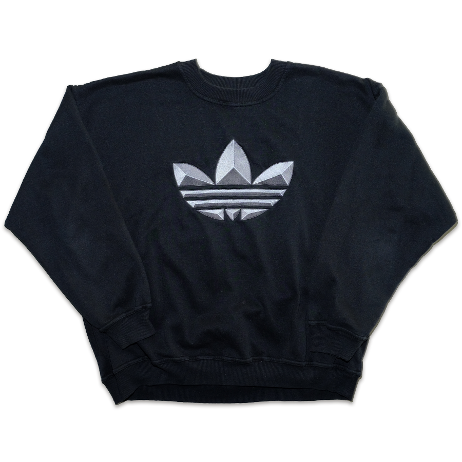 adidas  Originals Trefoil Sweater XLarge - Double Double Vintage
