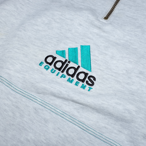 Vintage adidas Equipment Half Zip Sweatshirt Large – Double