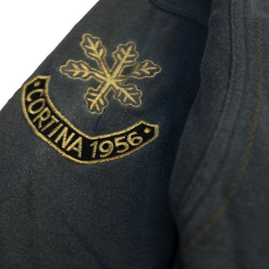 Rare Vintage adidas Olympic Winter Games Crewneck Sweatshirt / From the Olympic Winter Games in Grenoble 1968, in Cortina 1956 and in St. Moritz 1948