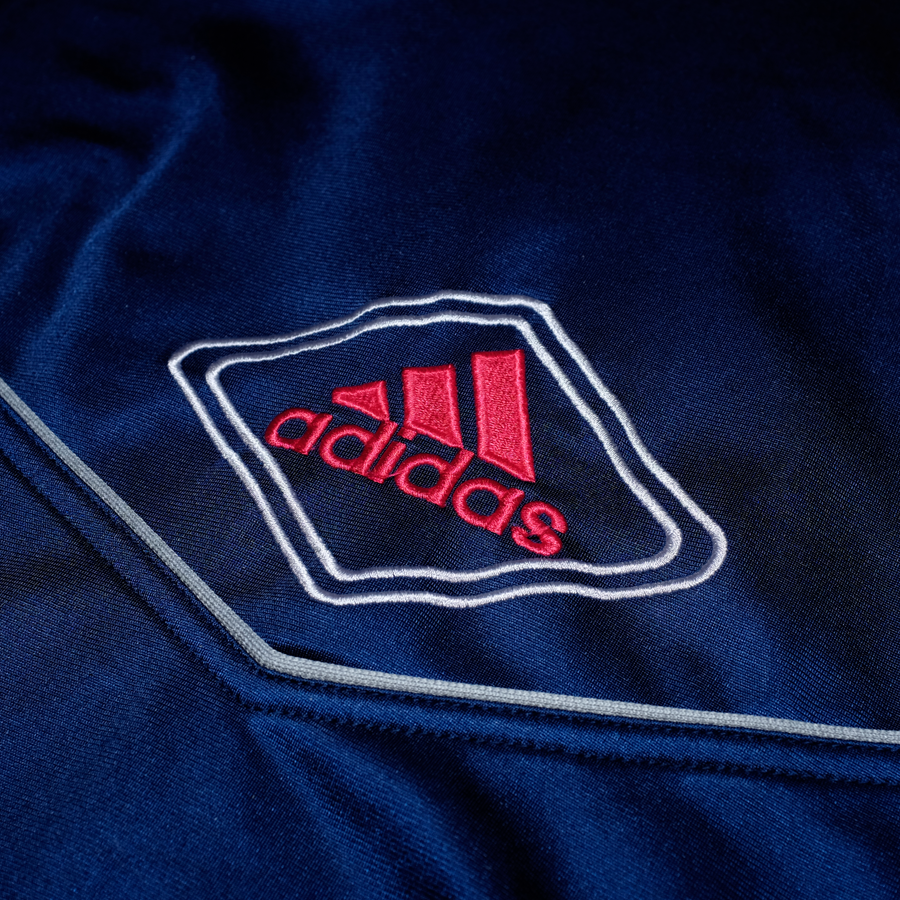 Vintage adidas Trackjacket with Logo on the Chest and Back
