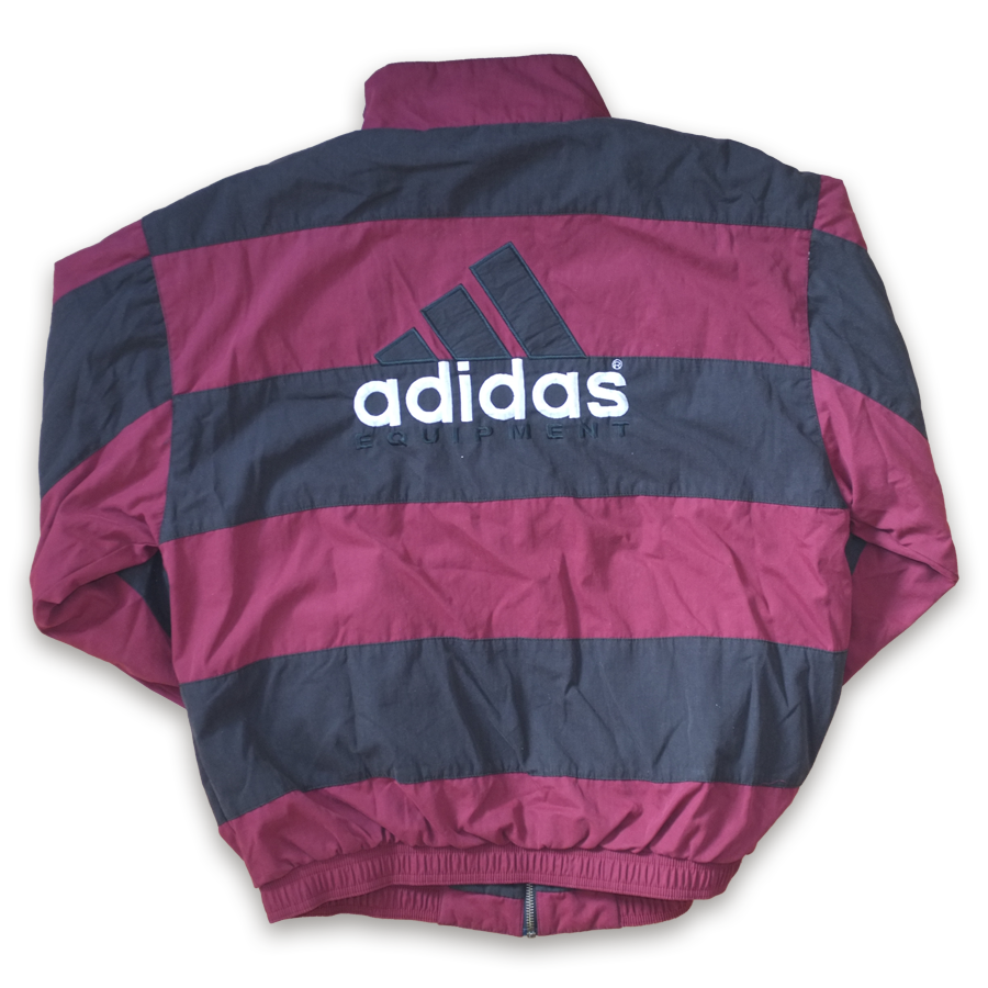 Rare Vintage adidas Equipment Striped Trackjacket