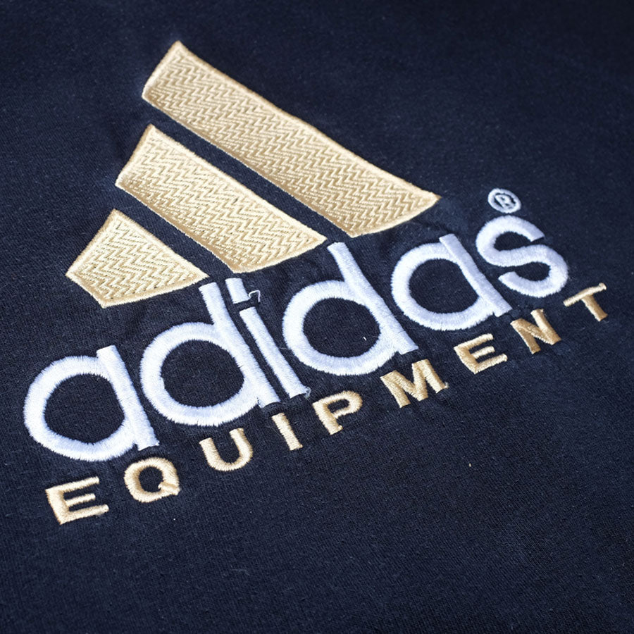 Womens Vintage adidas Equipment Sweatshirt Small / Medium - Double Double Vintage