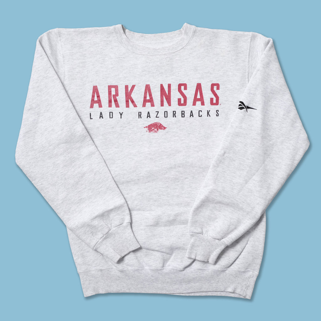 Vintage Reebok Arkansas Lady Razorbacks Sweater Small