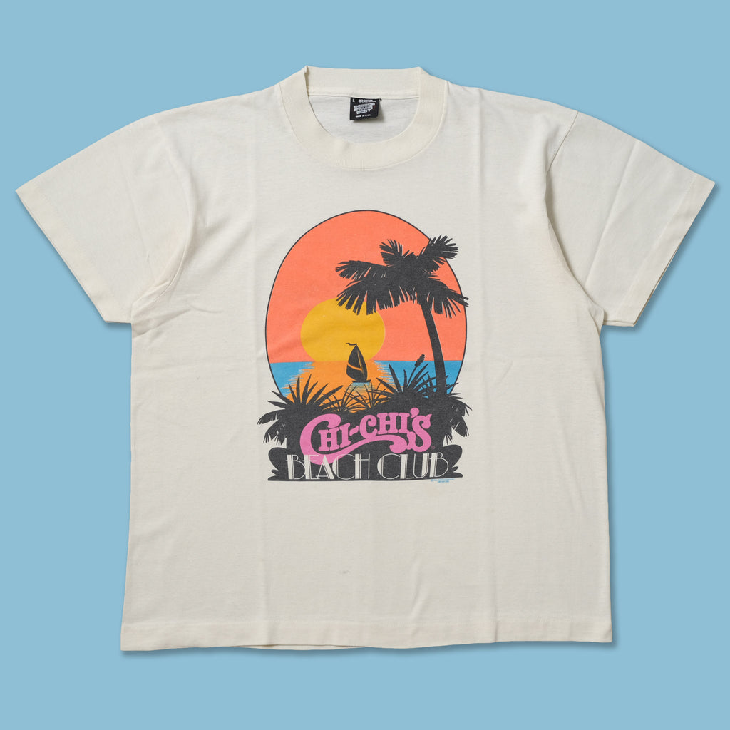 Vintage Chi Chi's Beach Club T-Shirt Medium