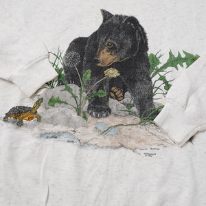Vintage 1994 Bear Sweater Large