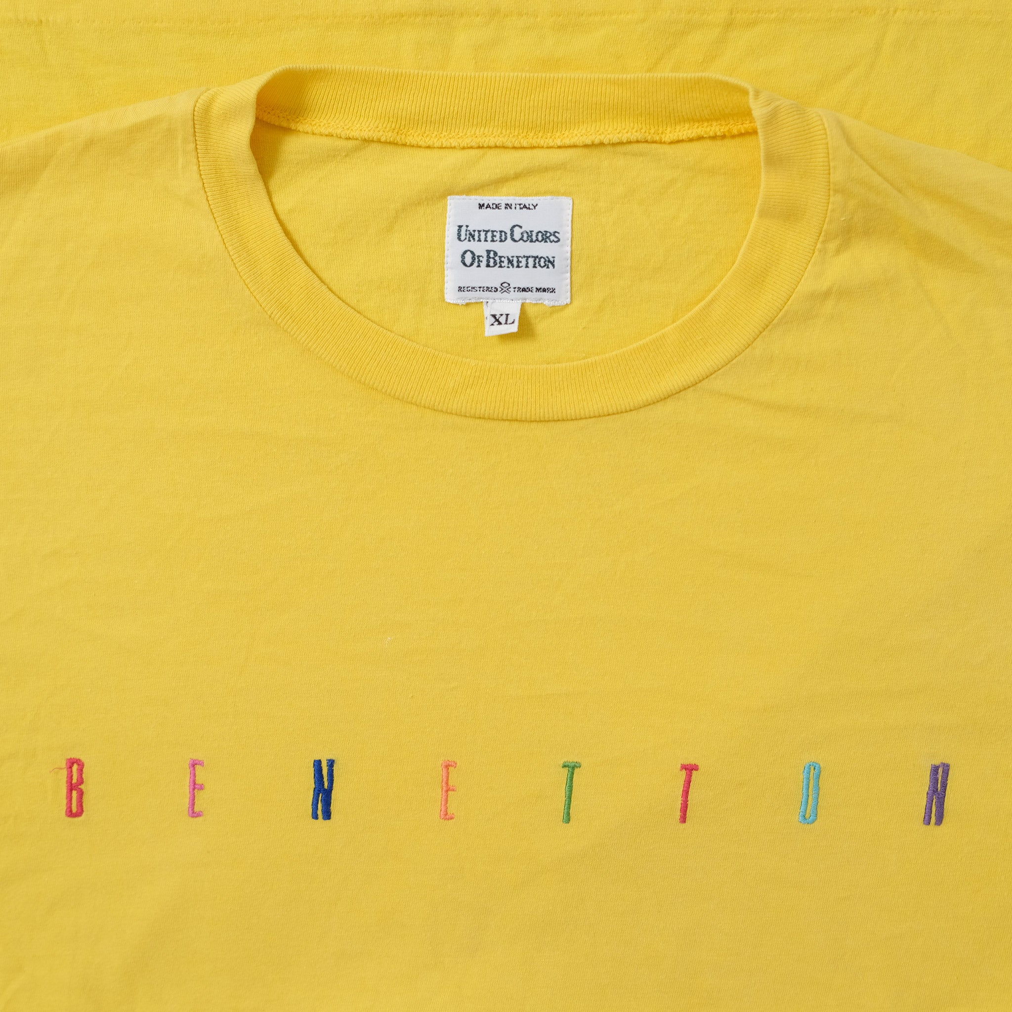 Vintage Bennetton T-Shirt Medium / Large