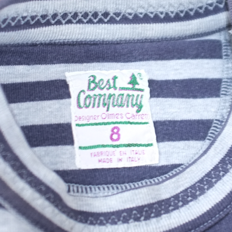 Best Company Striped Sweatshirt Medium / Large