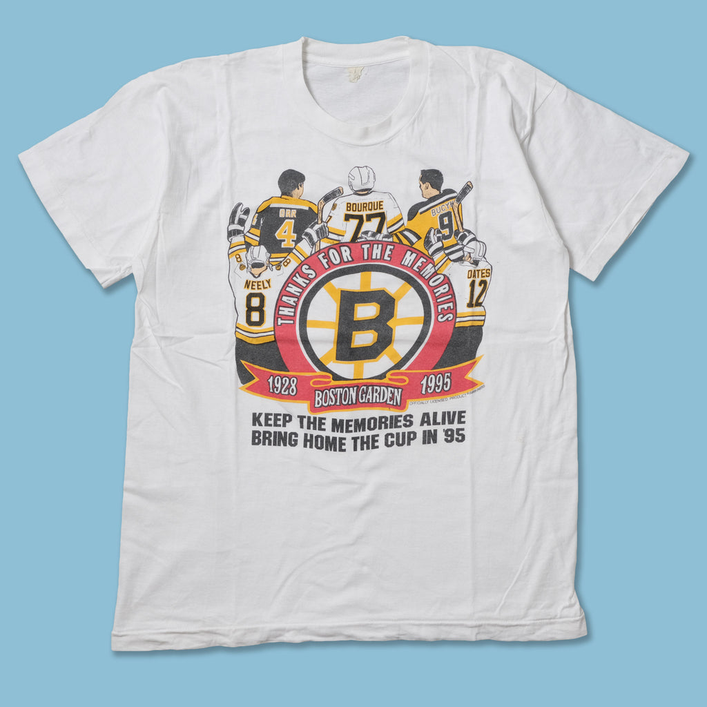 Vintage 1995 Boston Bruins T-Shirt Large