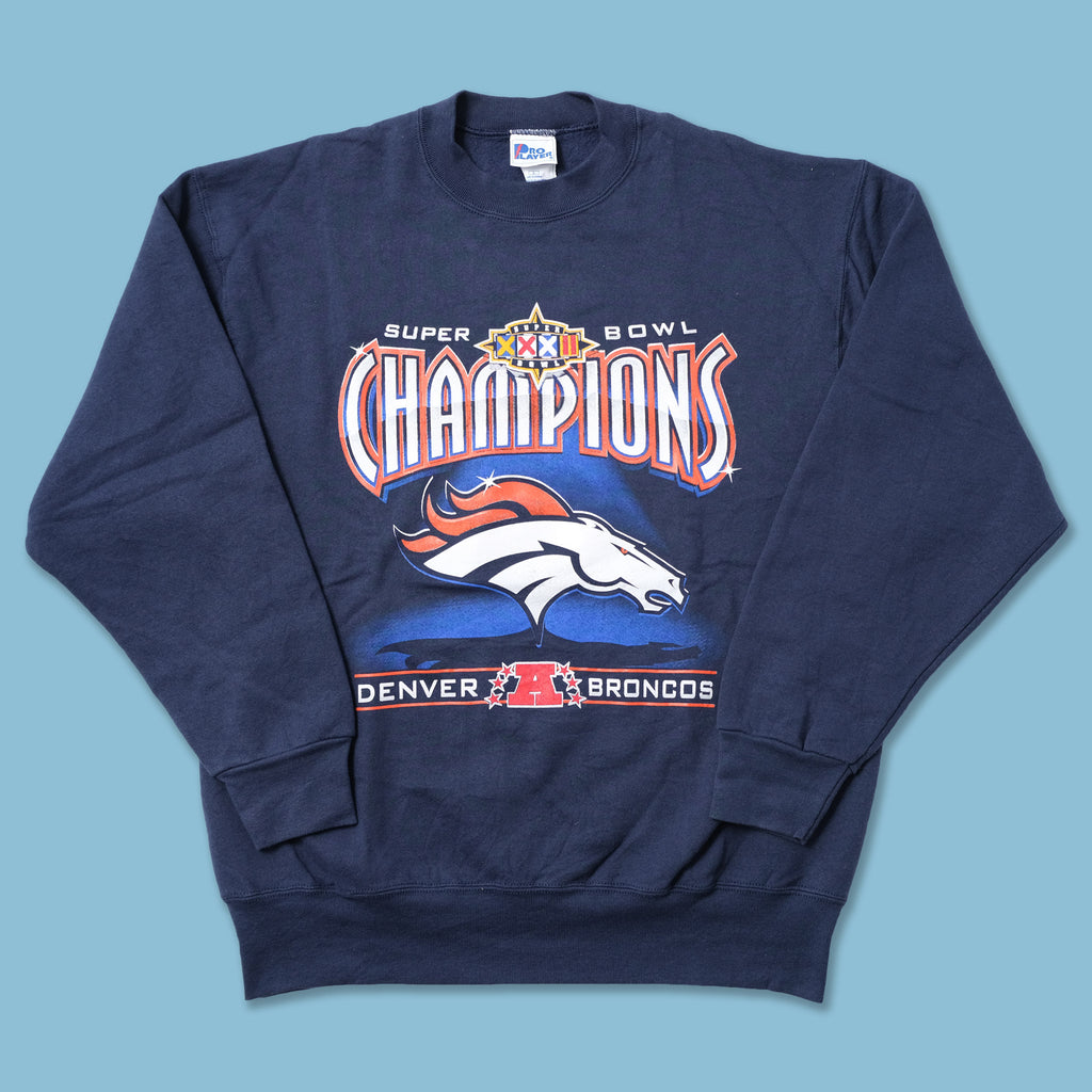 Vintage 1998 Super Bowl Denver Broncos Sweater Large