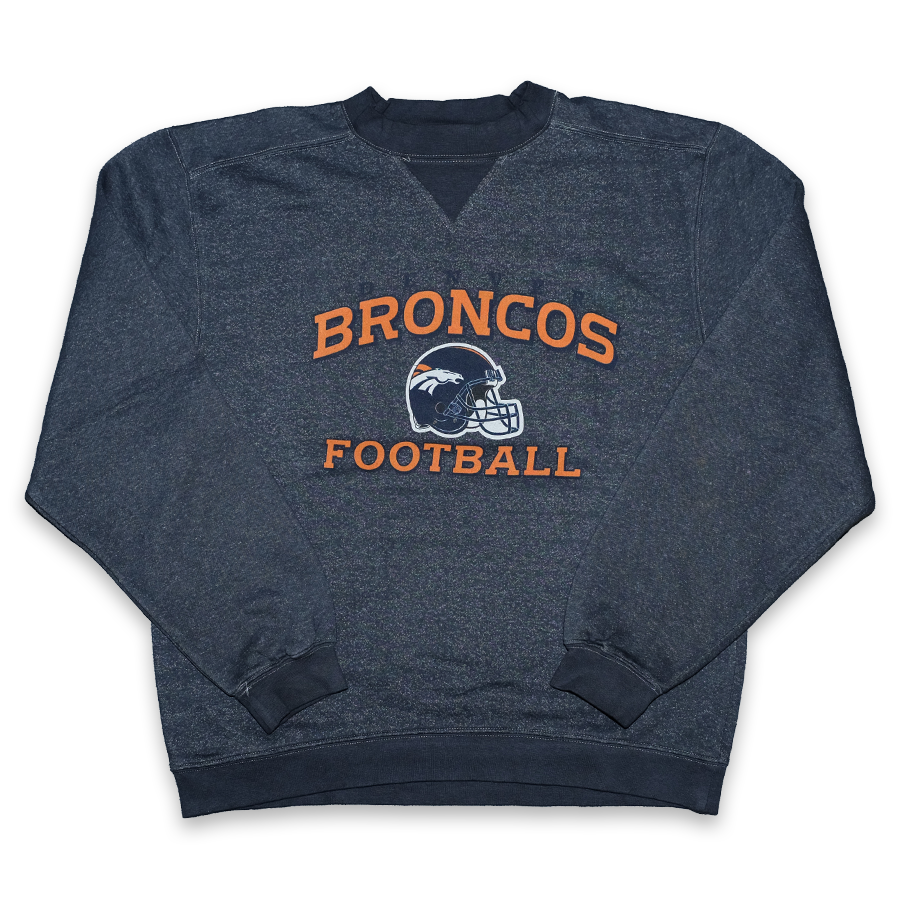 Vintage Reebok Denver Broncos Sweater Medium / Large