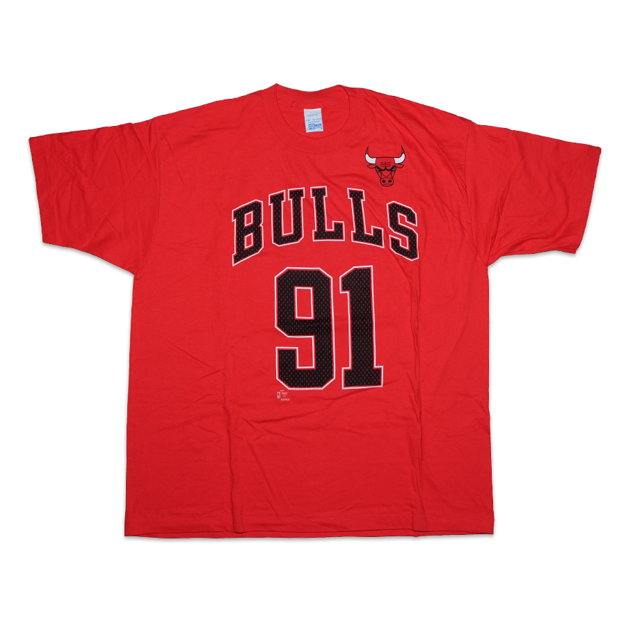Vintage Chicago Bulls 91 T-Shirt XXL