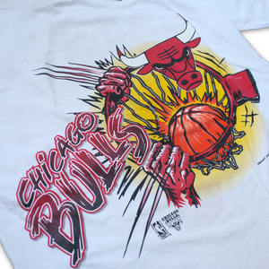 90s Chicago Bulls T-Shirt XLarge / XXLarge - Double Double Vintage