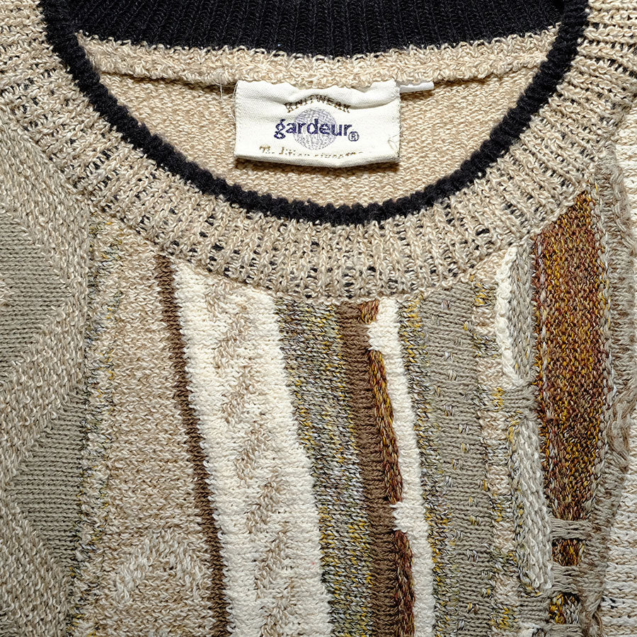 Vintage Gardeur Sweater Large - Double Double Vintage