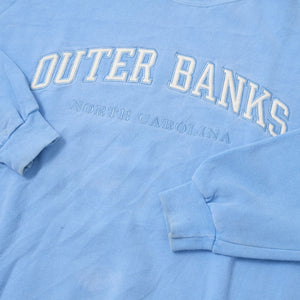 Vintage Outer Banks Sweater Large