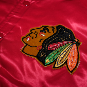 Chalk Line Chicago Black Hawks Jacket Medium