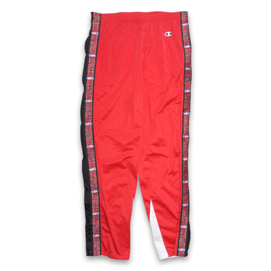 Champion Chicago Bulls Warm Up Pants XLarge