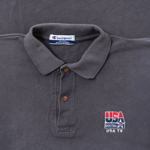 Vintage Champion USA Basketball Polo XXL