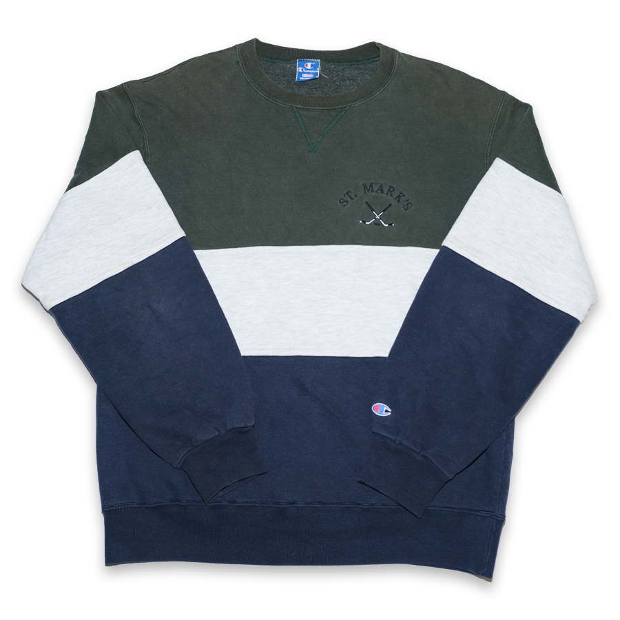Vintage Champion St. Mark's Sweater Large