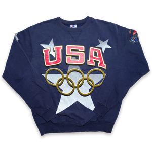 Vintage Champion Atlanta 1996 Olympics USA Sweater XLarge