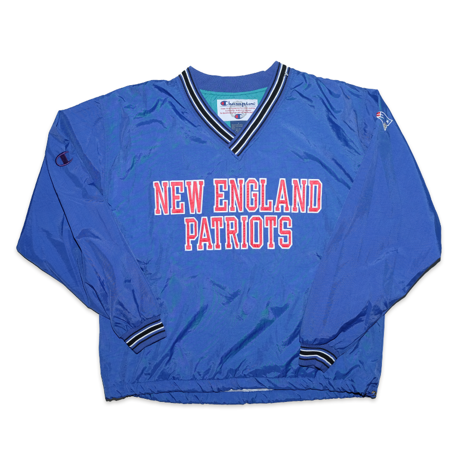 Vintage Champion New England Patriots Windbreaker XLarge