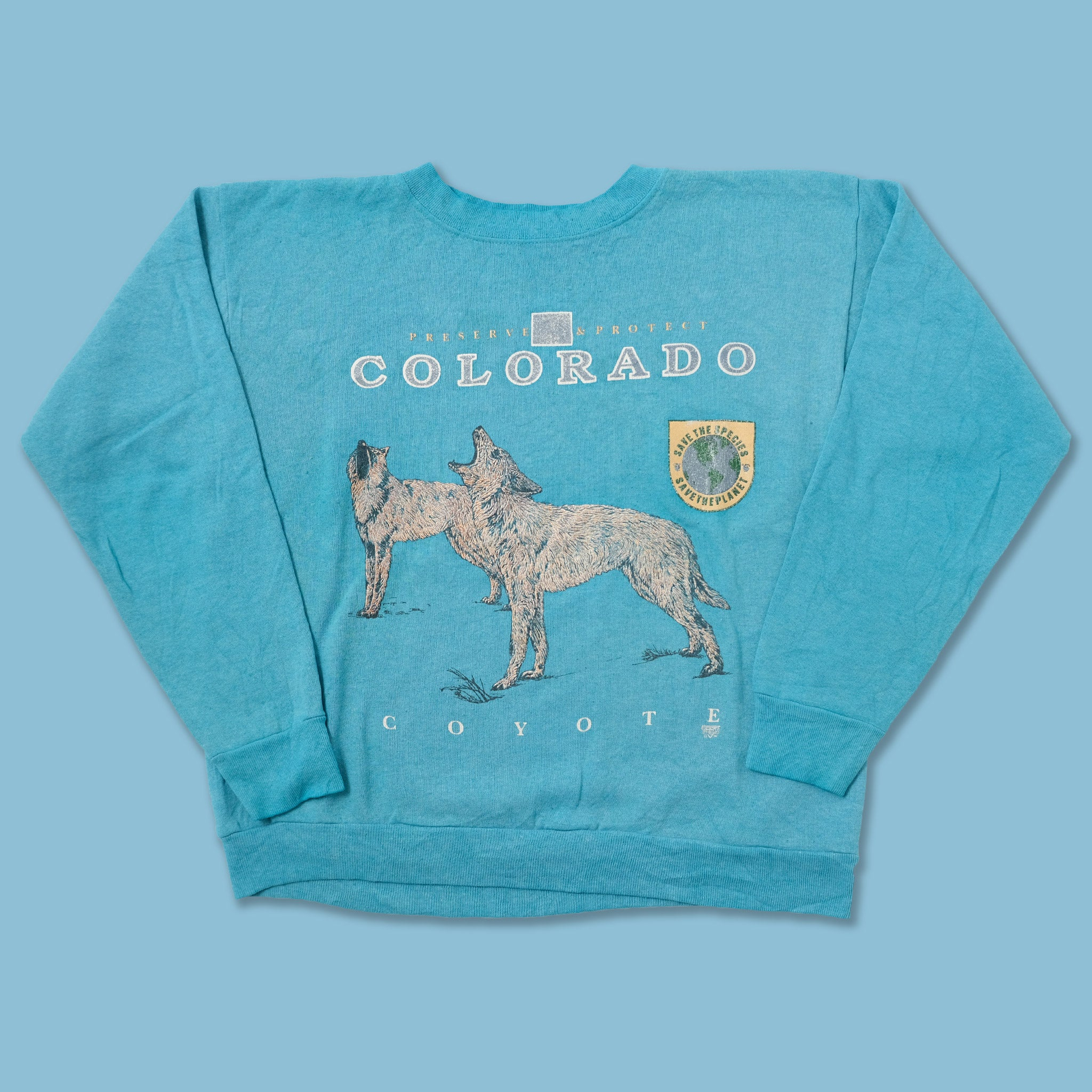 Vintage Coyote Sweater Small / Medium