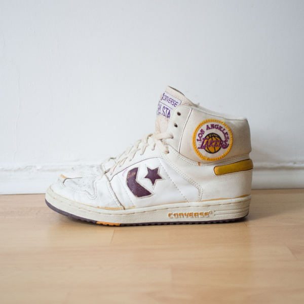 Vintage 90s Converse All Star LA Lakers Sneakers
