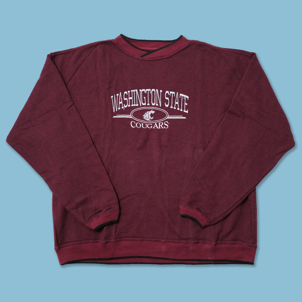 Vintage Washington State Cougars Sweater XLarge