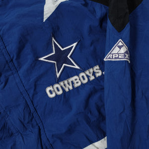 Vintage Dallas Cowboys Track Jacket Large