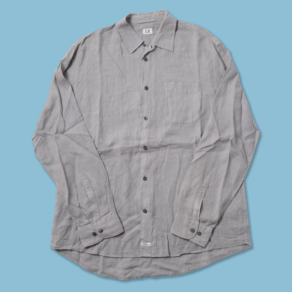 Vintage CP Company Linen Shirt XLarge
