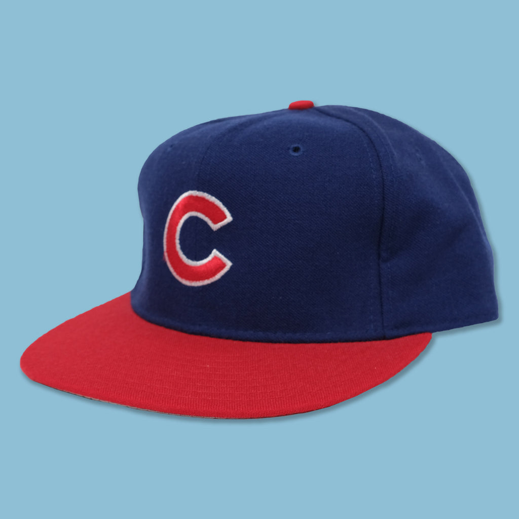 Vintage Chicago Cubs Fitted Cap 7 1/4
