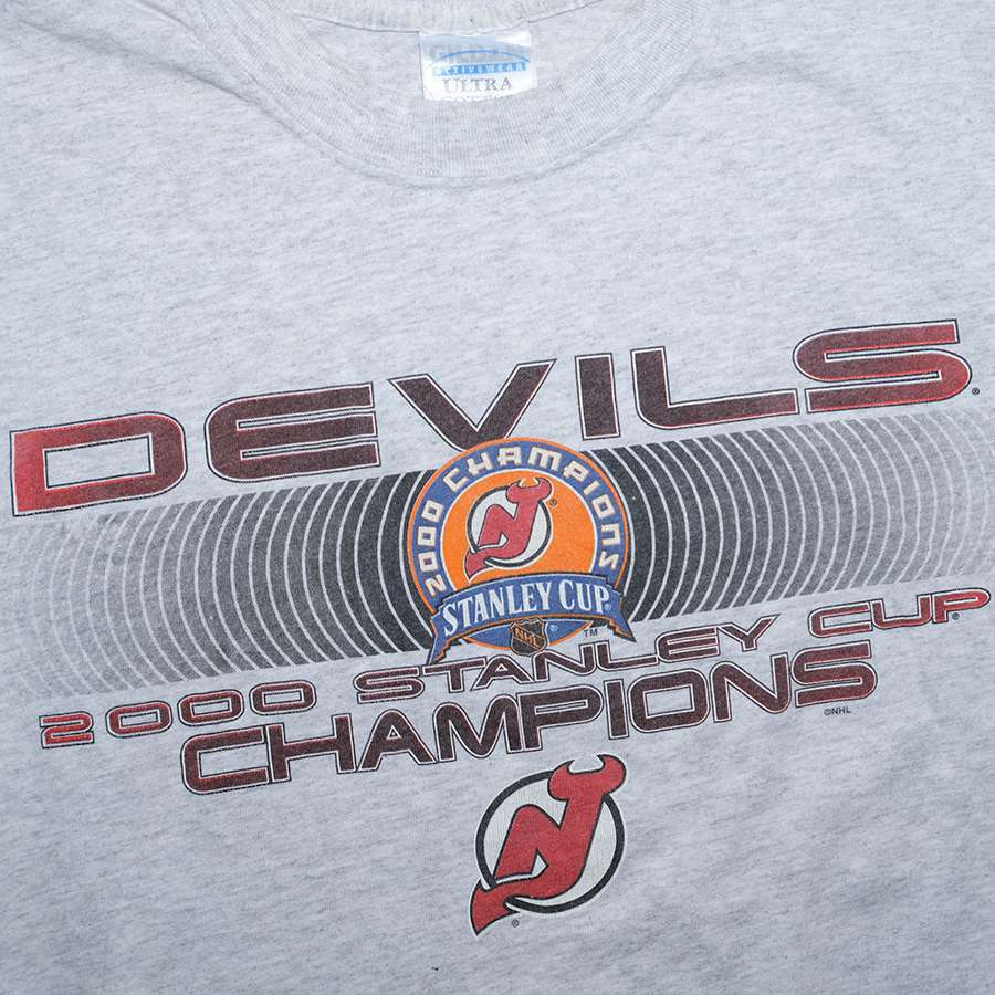 Vintage 2000 New Jersey Devils Stanley Cup T-Shirt Large