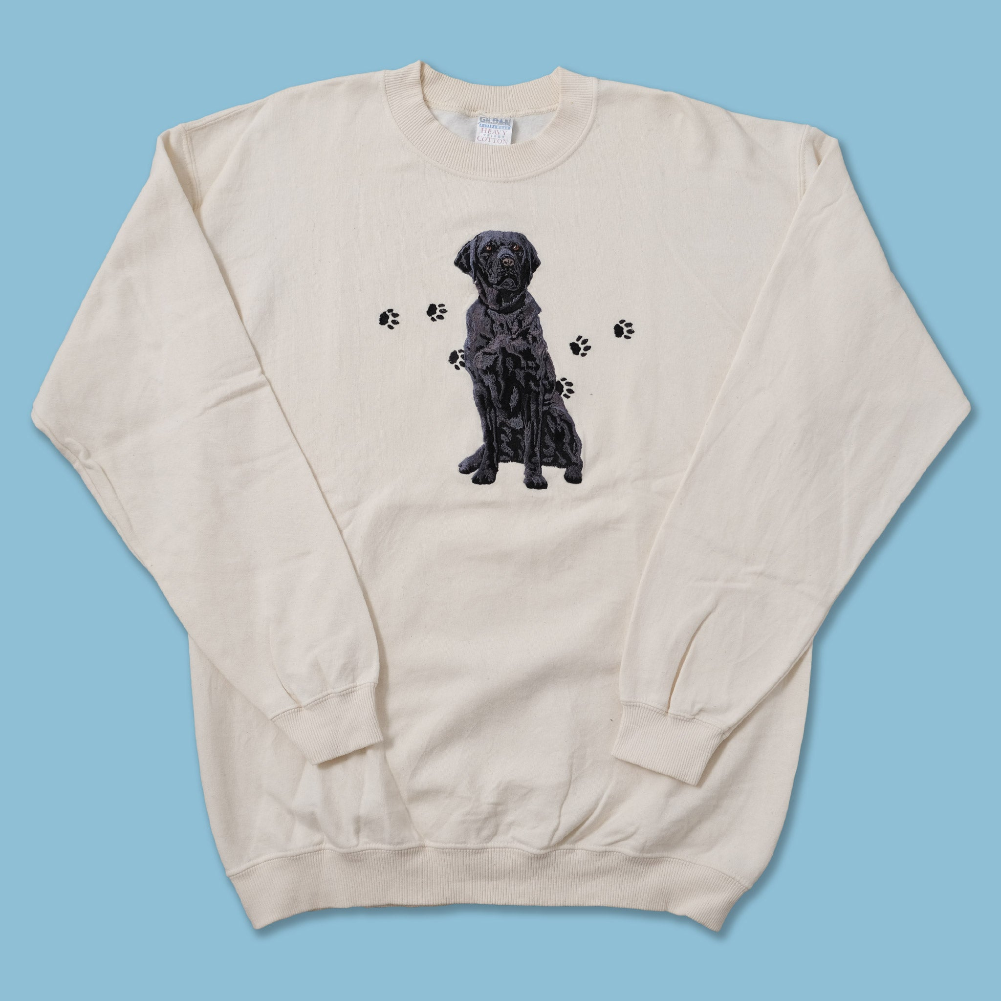Vintage Dog Sweater Large