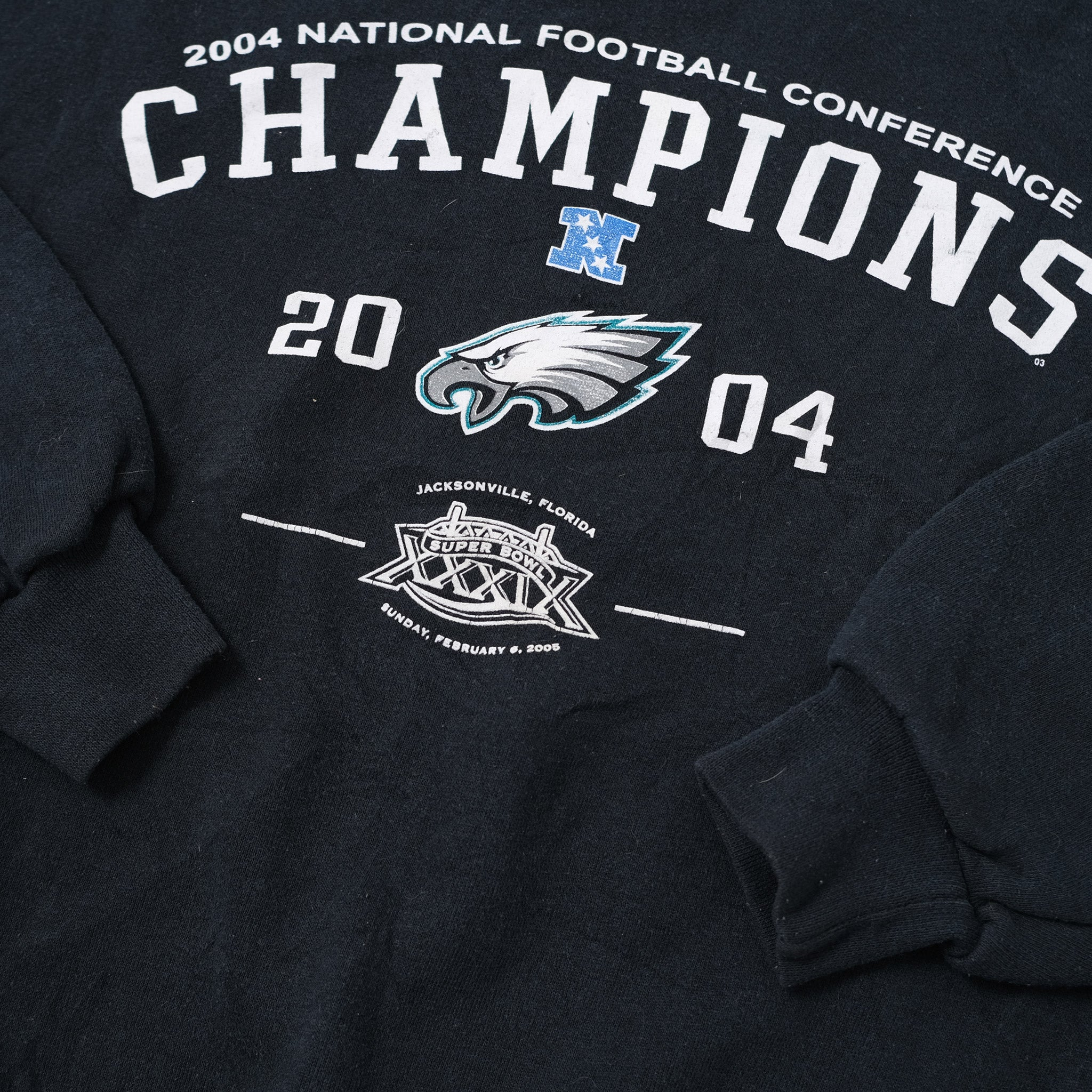 Vintage 2004 Philadelphia Eagles Sweater Medium / Large